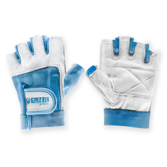 Grizzly Womens Blue Grizzly Paw Gloves - Xs