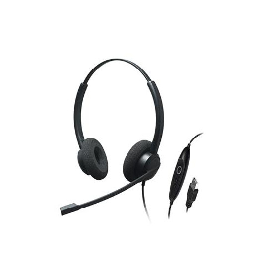 Dual Ear, Stereo, Noise Cancelling Usb