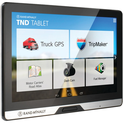 "Rand McNally  IntelliRoute 8"" TND Tablet 80 with Built-in Dash Cam"