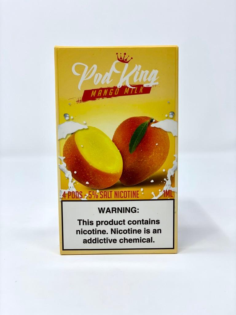 Mango Milk   Pod King Pods   Free Smoke Vape and Smoke Shop