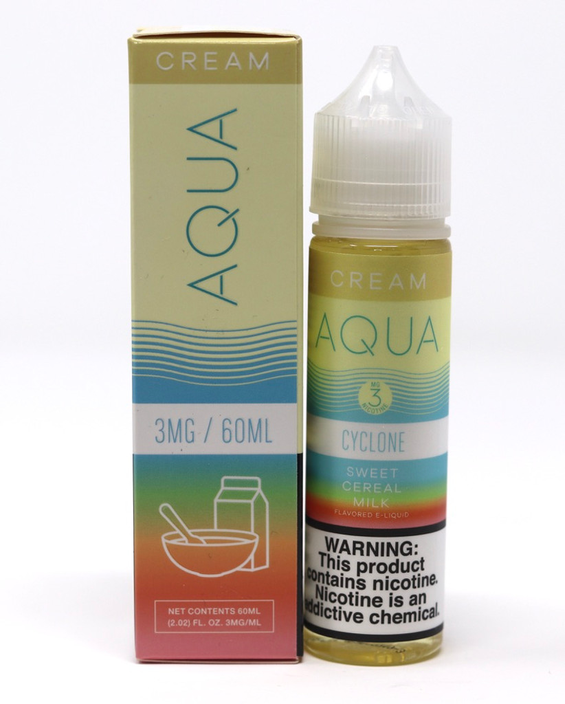 Cyclone - 60mL - Aqua Cream Vape Juice