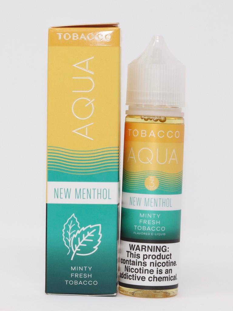 New Menthol - 60mL - Aqua Vape Juice