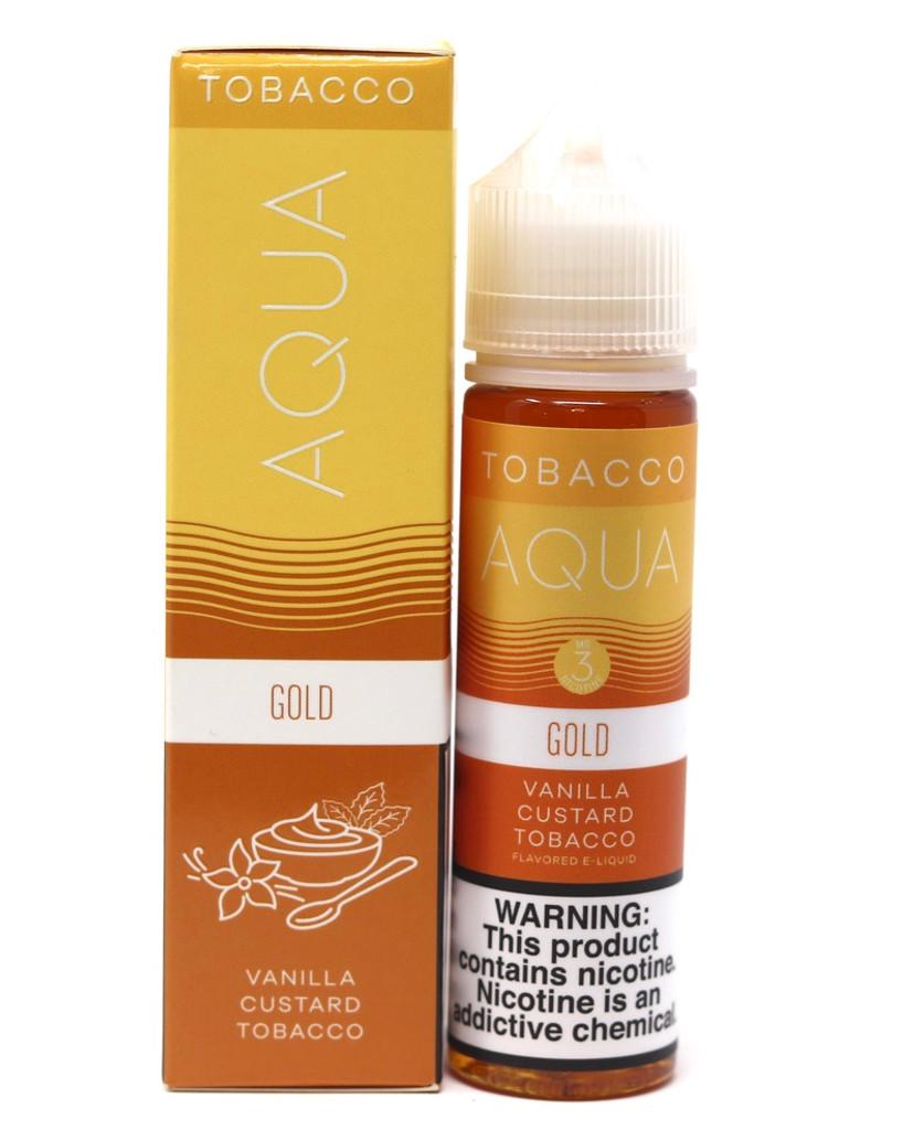 Gold - 60mL -  Aqua Vape Juice