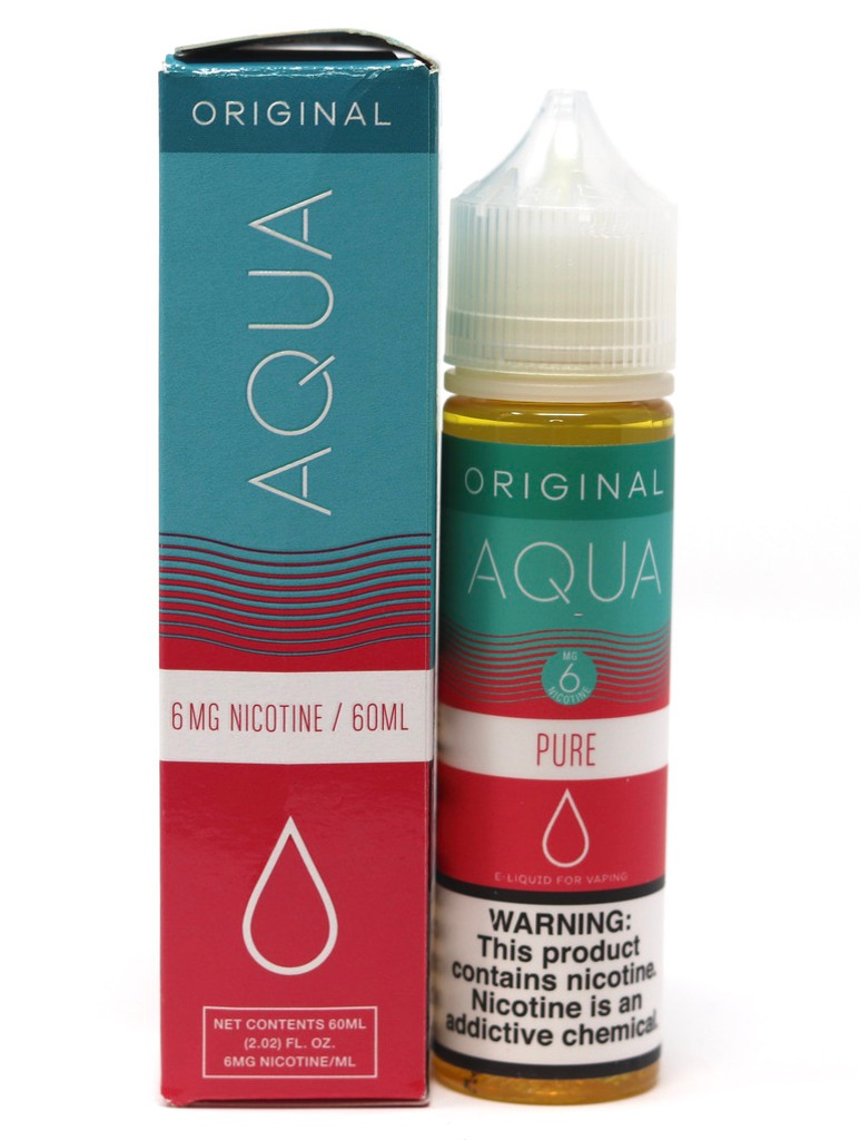 Pure - 60mL - Aqua Original Vape Juice