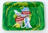 Rick & Morty Supreme Mini Rolling Tray   Free Smoke Vape and Smoke Shop