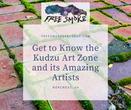 Get to Know the Kudzu Art Zone and its Amazing Artists