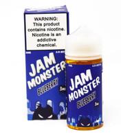 Blueberry - Jam Monster Vape Juice - 60mL