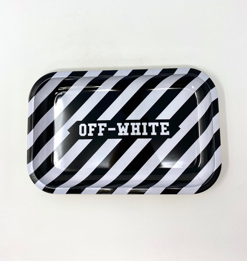 Off-White Small Rolling Tray | Free Smoke Vape and Smoke Shop