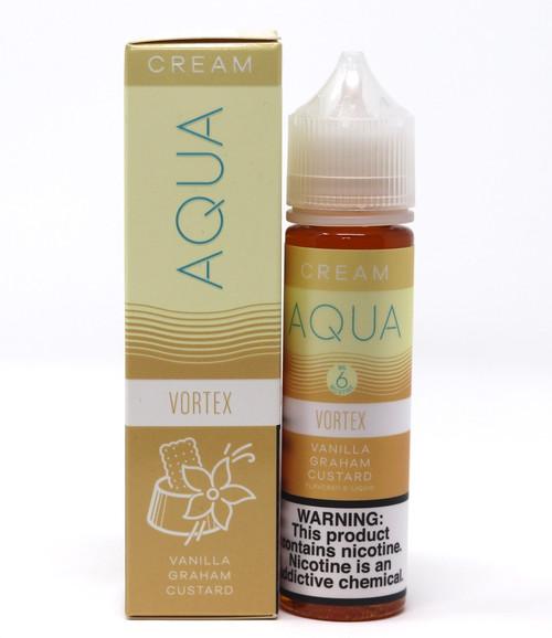 Vortex - 60mL - Aqua Cream Vape Juice