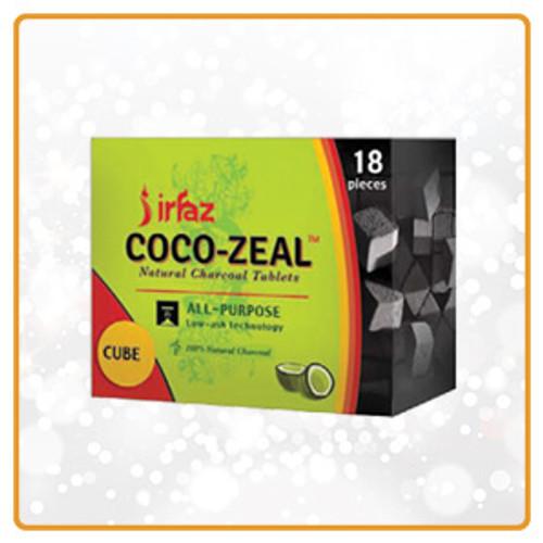 Coco Zeal Cube Coal 18ct | Free Smoke Vape and Smoke Shop