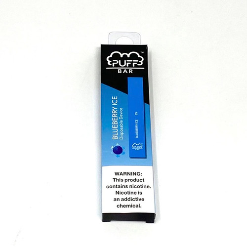 Blueberry Ice - Puff Bar Disposable Vape Device