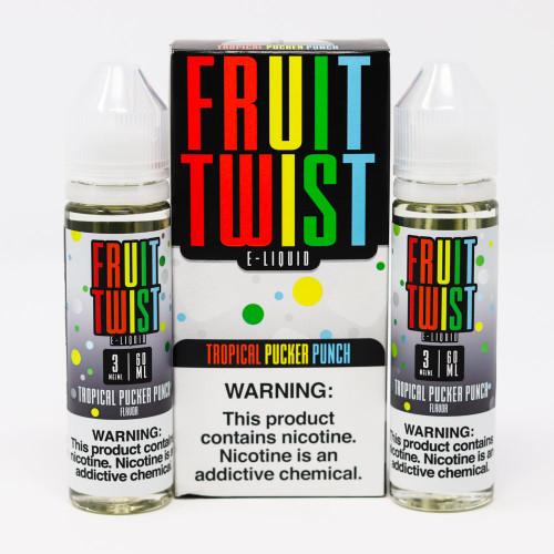 Tropical Pucker Punch - Fruit Twist - 0mg