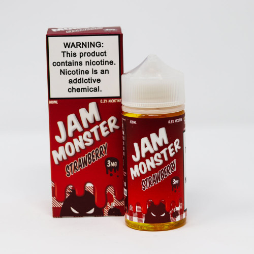 Strawberry - Jam Monster Vape Juice - 60mL