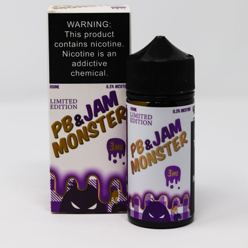 Grape PB & Jam Monster - 100mL