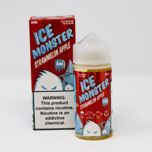 Strawmelon Apple - Ice Monster Vape Juice - 100mL