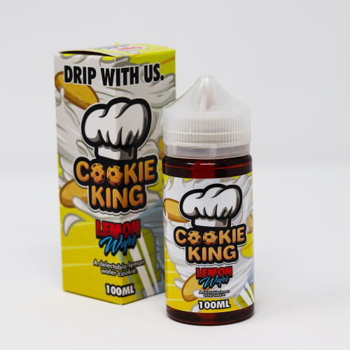 Lemon Wafer - Cookie King - 100mL