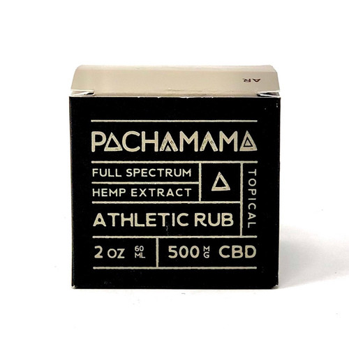 Pacha Mama - Athletic Rub 500mg