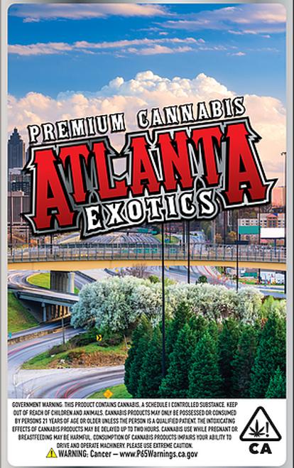 hemp flower packaging, cbd flower packaging, cannabis packaging, atlanta exotic
