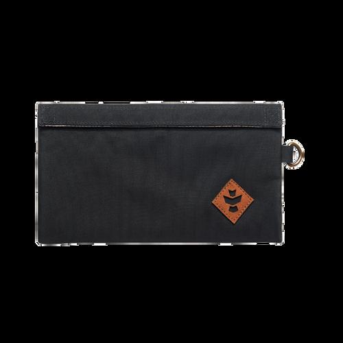 money bag, stash bag, small bag, revelry, revelry confidant, black