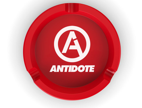 Antidote Metal Tray - Red