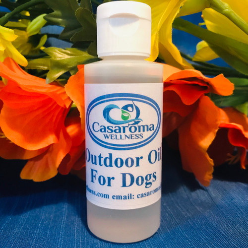 Outdoor Oil for Dogs