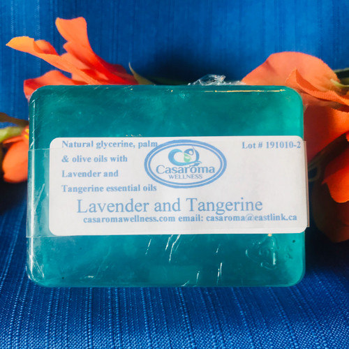Lavender and Tangerine Soap