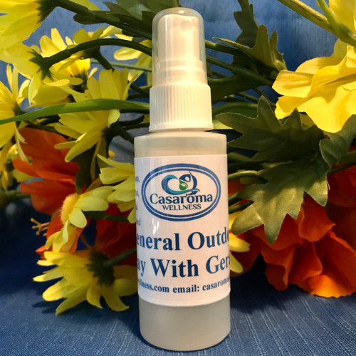 General Outdoor Spray with Geranium (Water-Based)