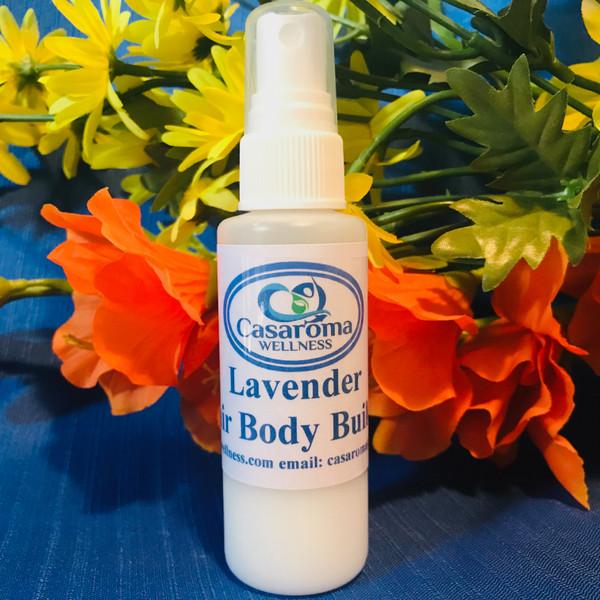 Lavender Hair Body Builder