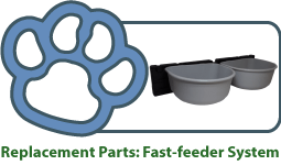 Replacement Parts for Fast-feeder System