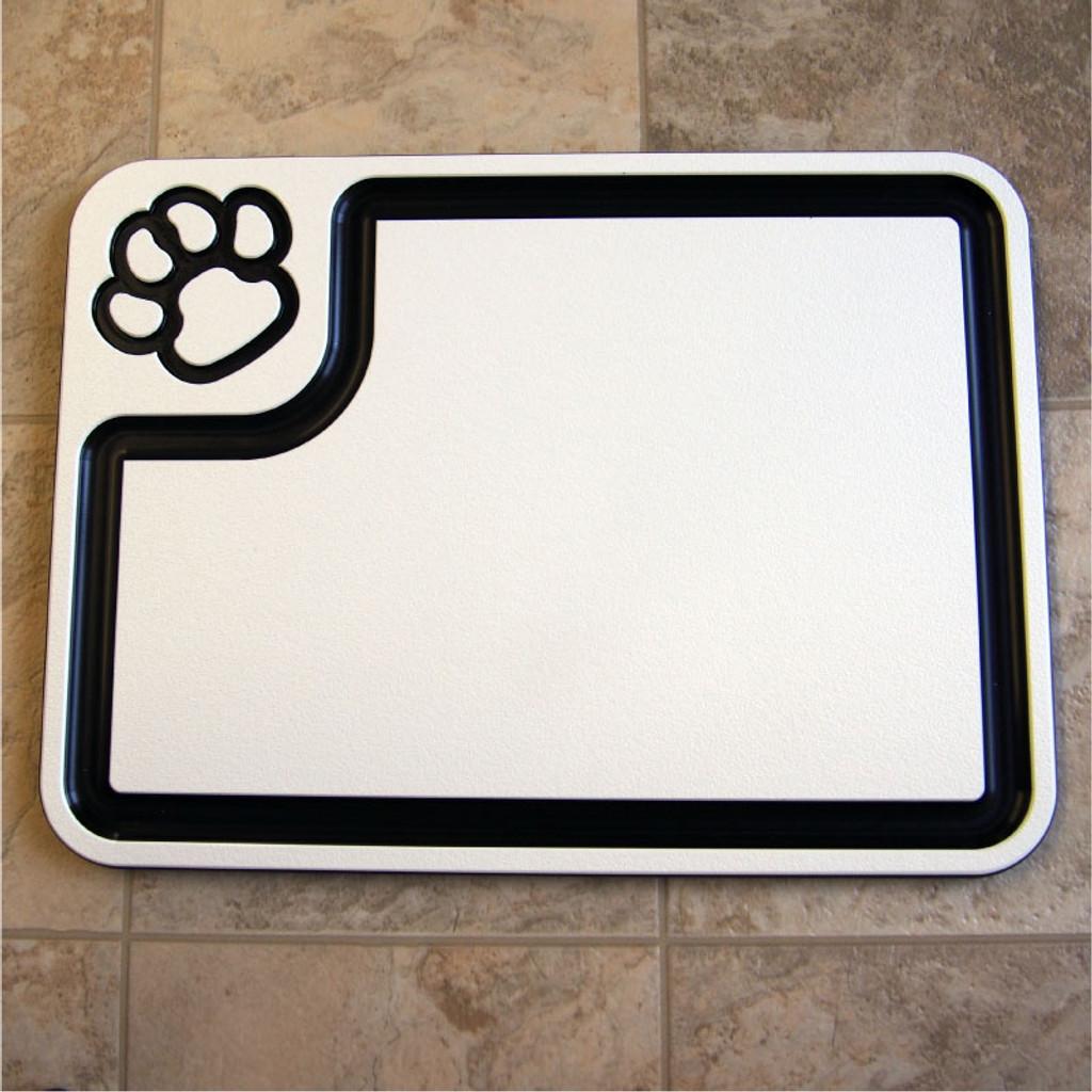 Custom plastic large cutting board.