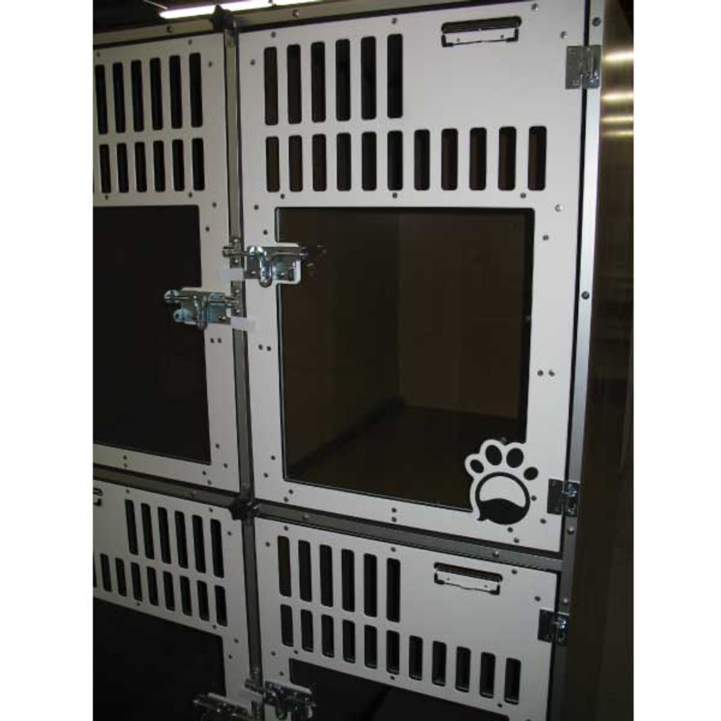 Gator Kennels Double Stack for Boarding unit for Fetch Pet Resort.