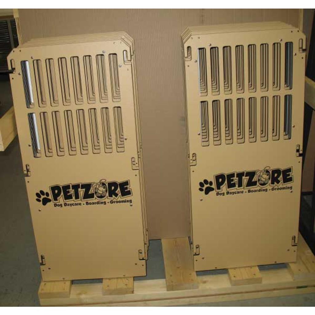 PetZore custom Gator Kennels gates.