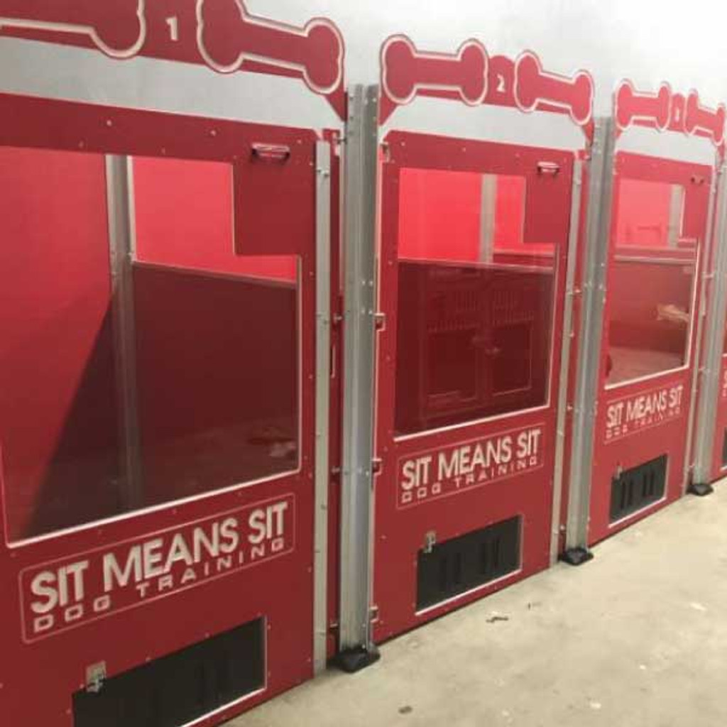 Sit Means Sit - Tampa Signature Series kennels.