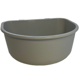 Gator Kennels dog bowl front view.