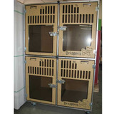 Bridget's Pet Resort's Double Stack for boarding kennel unit.