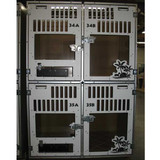Gator Kennels Double Stack for Boarding unit for Elk Grove Pet Resort & Spa.