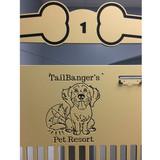 Tail Banger's Pet Resort custom logo.