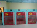 The Ark Pet Spa dog kennels installed.