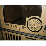 The Barkmont  (formally The Barkeley) uses Gator Kennels Double Stack for Boarding units, featuring their custom logo.