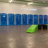Premier K9 Center of Minnesota's custom kennels.