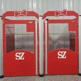 SZ Rolling Acres' Gator Kennels Signature Series in classic red.