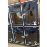 Preppy Pet's Gator Kennels Double Stack for Boarding.