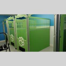 Large kennel-suites.