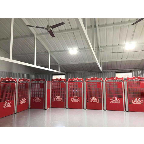 Red River Pet Resort using Gator Kennel's Signature Series custom dog kennels.