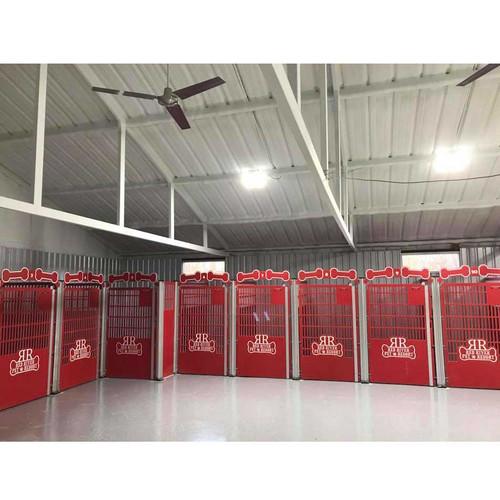 Red River Pet Resort using Gator Kennel's Signature Series custom dog kennels.