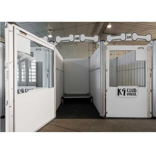 K-9 Kennel Club's Signature Series dog kennels.