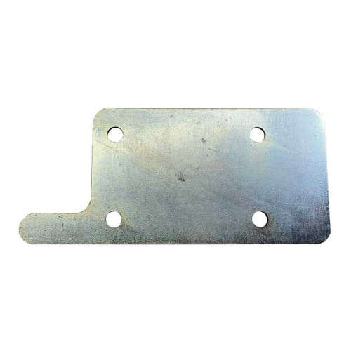 dog kennel latch-plate.