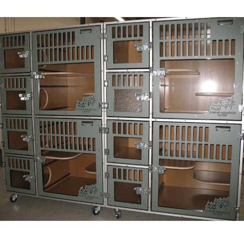 Animal Adoption Center Gator Kennels Cat-Hotel units.
