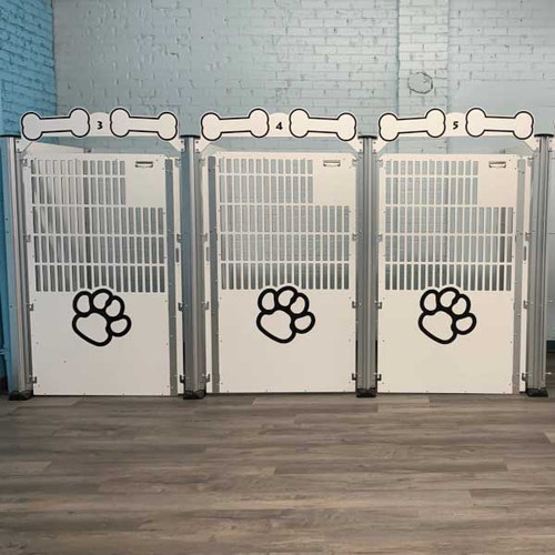 Barks on Broadway Signature Series Kennels.