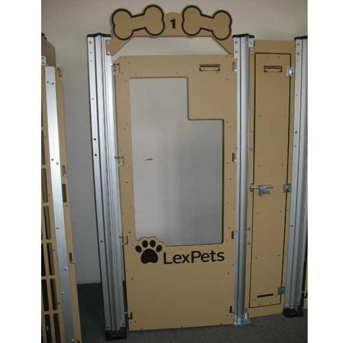 LexPets' custom Gator Kennels gates.